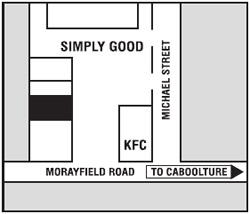 Morayfield Map